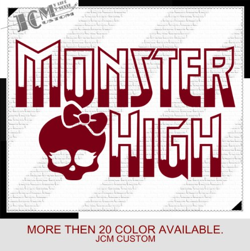 Monster High Vinyl Decal Sticker / 18