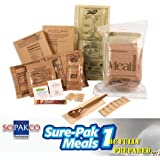 Sure-Pak MRE Full Meal Kit with Heater-Single Meal