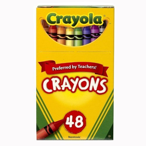 Crayola 48ct Crayons, Case of 24 packs by Crayola