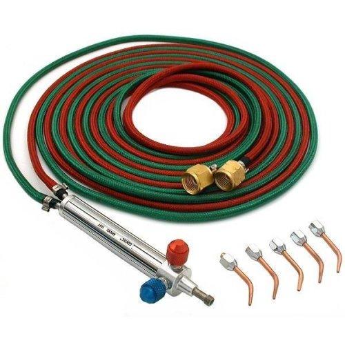 Gentec Propane MAPP Torch Jewelers Soldering Brazing 5 Tips