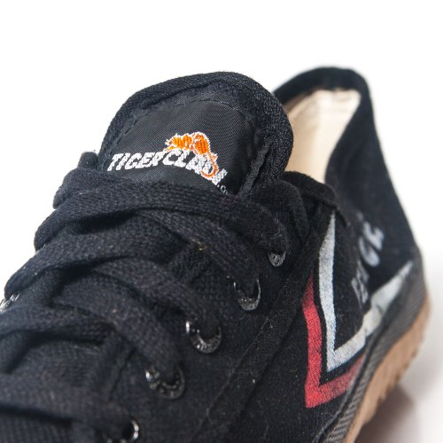 Tiger Claw Feiyue Martial Arts Shoes - Black - Size 44