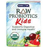 Garden of Life RAW Organic Probiotic Kids, 96g Powder