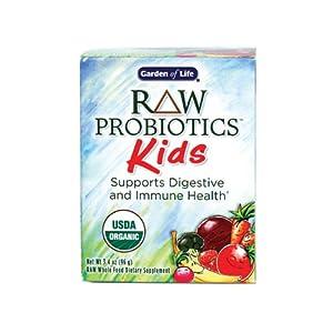 Garden of Life RAW Organic Probiotic Kids, 96g Powder