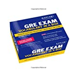 Kaplan GRE Exam Vocabulary in a Box