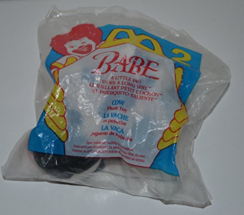McDonalds - BABE #2 - Cow Plush Toy, 1995 - 1