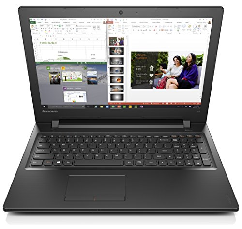 Lenovo  Ideapad 300 15.6-Inch Laptop (Core i3, 6 GB RAM, 500 GB HDD, Windows 10) 80Q7008QUS