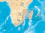 Navionics Platinum+ 6P035XL AFRICA S.E./MADAGASCAR Marine & Lake Charts on SD/MSD