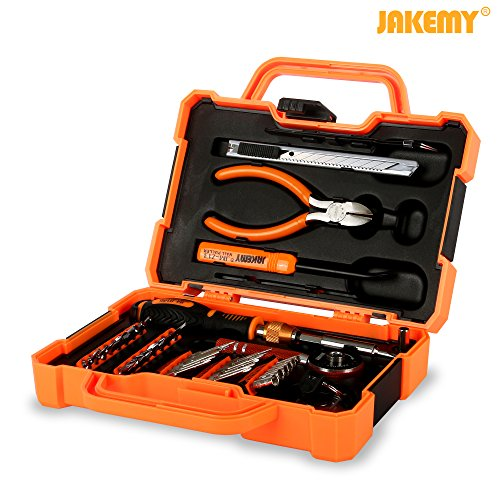 Jakemy JM-8146 47 in1 Household Maintenance Screwdriver Set Hardware Tool Kit for Household, Mobile, Cellphone, Tablet, Laptop, Electronics (Household Screwdriver compare prices)