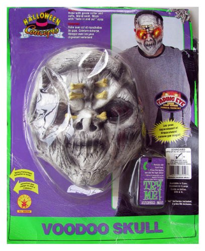 Rubies Boys 'Voodoo Skull' Child Costume, Black, L