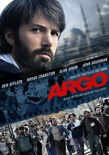 Argo 2012 release; 120 min. (Directed by Ben Affleck) - Bring the story, based on true events but fictionalized for Hollywood purposes, of how CIA operative Tony Mendez (played by Ben Affleck) goes to Iran to help rescue 6 Americans who are holed up in the Canadian Ambassador's residence ever since Iranian fanatics violently took over the US Embassy compound. In order to get the 6 Americans out of Iran, Mendez proposes that they pose as Canadian film makers, who are in Iran scouting for appropriate locations to film Argo, a Star Wars-like adventure.