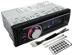 See Klarheit Car Single-Din In-Dash USB FM Stereo Radio Receiver MP3 Player AUX Input Details