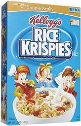 Kellogg\'s Rice Krispies Rice Krispies Cereal - 12 oz