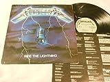 Ride The Lightning - 1984 Original VINYL LP - Megaforce - MRI 769
