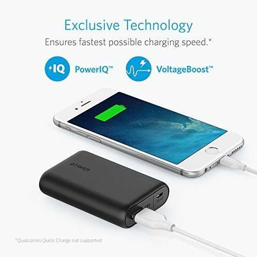 Anker PowerCore 10000 Portable Charger, One