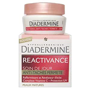 Diadermine - Soin de Jour anti-taches fermeté Réactivance - Peaux matures - 50 ml