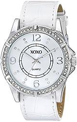 XOXO Women's XO9063 Analog Display Analog Quartz White Watch