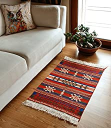 Silk&Cotton Bathroom & Kitchen Area Rug - Doorway & Hallway Floor Runner 23\
