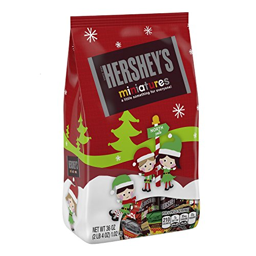 HERSHEY'S Holiday Chocolate Miniatures Assortment, 36 Ounce (Chocolate Miniatures compare prices)