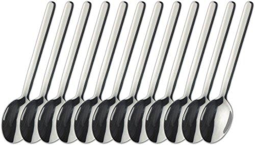 Esmeyer Set da 12 cucchiaini per espresso BETTINA in acciaio inox 18/10 lucido