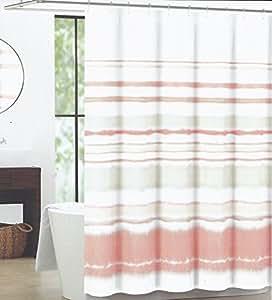 Max Studio Home Fabric Shower Curtain