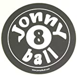 Soft Flexible Round 8 BALL POOL JONNY 8 BALL Computer Mouse Mat - non slip base