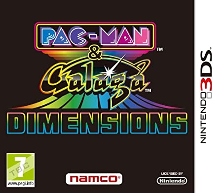 Pac-Man and Galaga (Nintendo 3DS)
