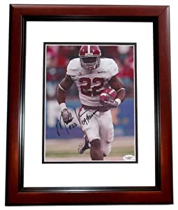 Mark Ingram Autographed Hand Signed Alabama Crimson Tide 8x10 Photo MAHOGANY CUSTOM... by Real Deal Memorabilia