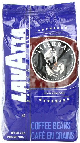 Lavazza Tierra! 100% Arabica Whole Bean Espresso
