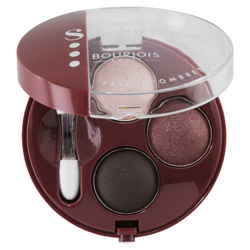 Bourjois - yeux - Trio Smoky Eyes - 18 Prune Enigmatique