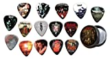 Slipknot 15 X Guitar Médiators Picks with Tin ( Gold Range Plectrums )