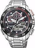 [シチズン]CITIZEN 腕時計 PROMASTER プロマスター Eco-Drive エコ・ドライブ GLOBAL LAND レーシングクロノグラフ JW0126-58E メンズ