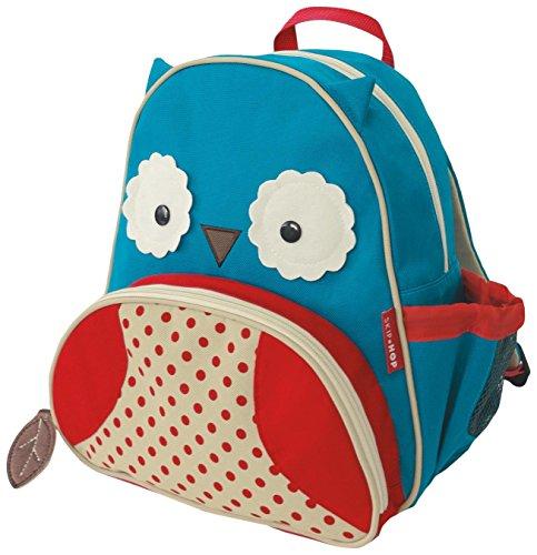 Skip Hop Zoo Little Kid and Toddler Backpack, Ages 2+, Multi Otis Owl