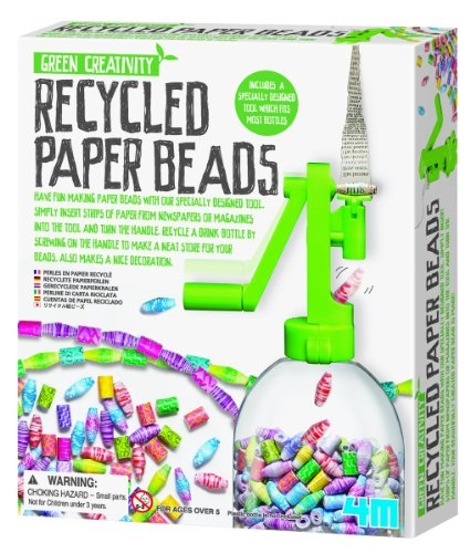 4M Recycled Paper Beads Kit - 1
