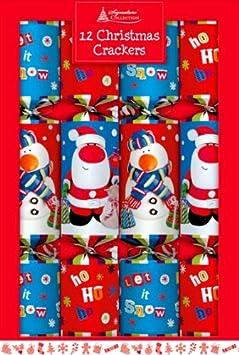 Crackers de Noël 12x30cms