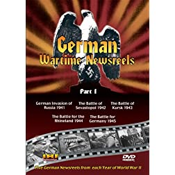 German Wartime Newsreels DVD