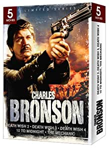 Charles Bronson 5 Movie Gift Box Set (Limited Series)