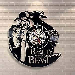Amazon Com Beauty And The Beast Vinyl Record Design Wall