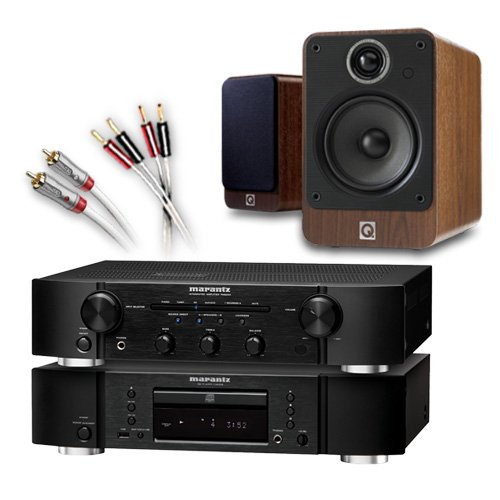 Creative Audio CA-FS9-BW Separates System (Marantz CD6005 CD player Black + Marantz PM6005 amplifier / DAC Black... Black Friday & Cyber Monday 2014
