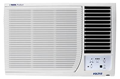 Voltas 182 DY Delux Y Series Window AC (1.5 Ton, 2 Star Rating, White)