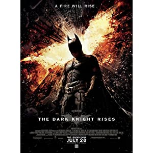 DARK KNIGHT RISES &quot;C&quot; 27X40 ORIGINAL D/S MOVIE POSTER