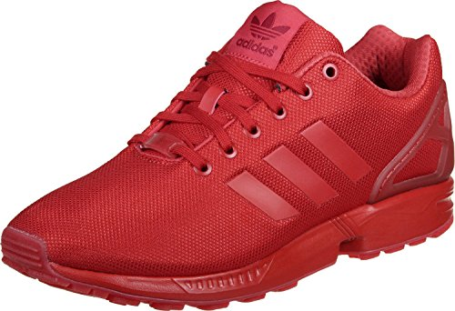 adidasZx Flux - Scarpe Running uomo , Rosso (Red (Red/Red/Red)), 45.3333333333333