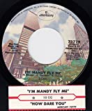 45vinylrecord I'm Mandy Fly Me/How Dare You (7