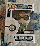 "October 2015 ""Time Travel"" Exclusive Funko Pop #236 Back To The Future Dr. Emmet Brown Figurine"