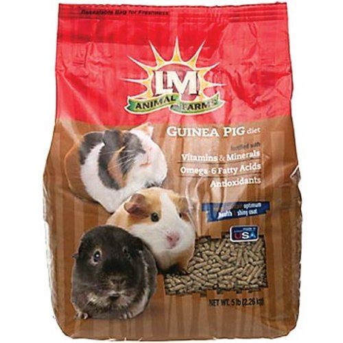 L/M Animal Farms Slm12118 Guinea Pig Diet Food, 20-Pound