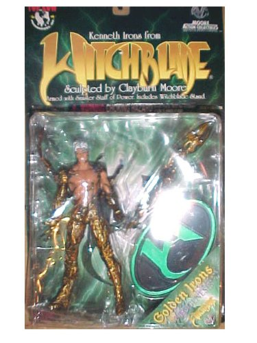 Kenneth Irons from Witchblade Action Figure - Witchblade Kenneth Irons Action Figure