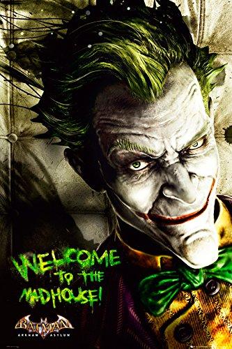 GB eye LTD, Batman Arkham Asylum, Joker, Maxi Poster, 61 x 91,5 cm