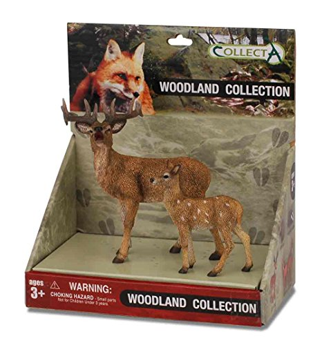 CollectA Woodland Figure Set (2-Piece)