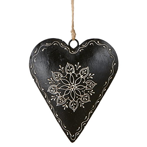 Black christmas ornaments is the new green