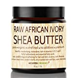 Shea Butter - Molivera Organics 16 Oz. Raw Unrefined African Organic Ivory Shea butter for Natural Skin Care, Hair Care and Body Butters - Fair Trade Karite SheaButter from Ghana - UV Resistant Jar - 100% Satisfaction Guarantee