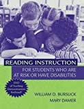 img - for Reading Instruction for Students Who Are at Risk or Have Disabilities book / textbook / text book